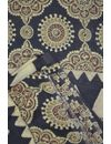 Modal Silk Satin Ajrakh Fabric( To buy a quantity of 1.5,2.5,3.5 please call us on 9930655009)