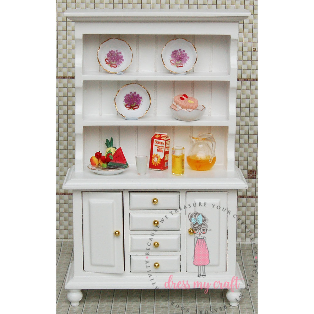 Miniature Cabinet | Dmcma1147 | Dress My Craft