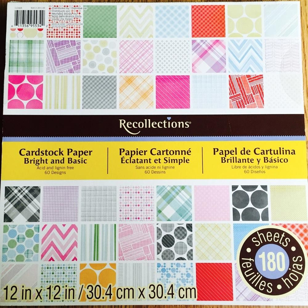 Bright basic recollections cardstock paper ps 955342 diecuts bright basic recollections cardstock paper pronofoot35fo Gallery
