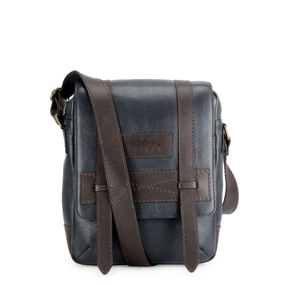 Men's Leather Messenger Bag - PR1121