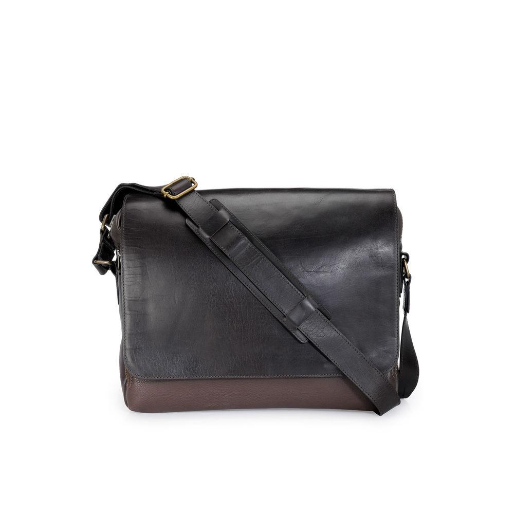 Men's Leather Messenger Bag - PR1133