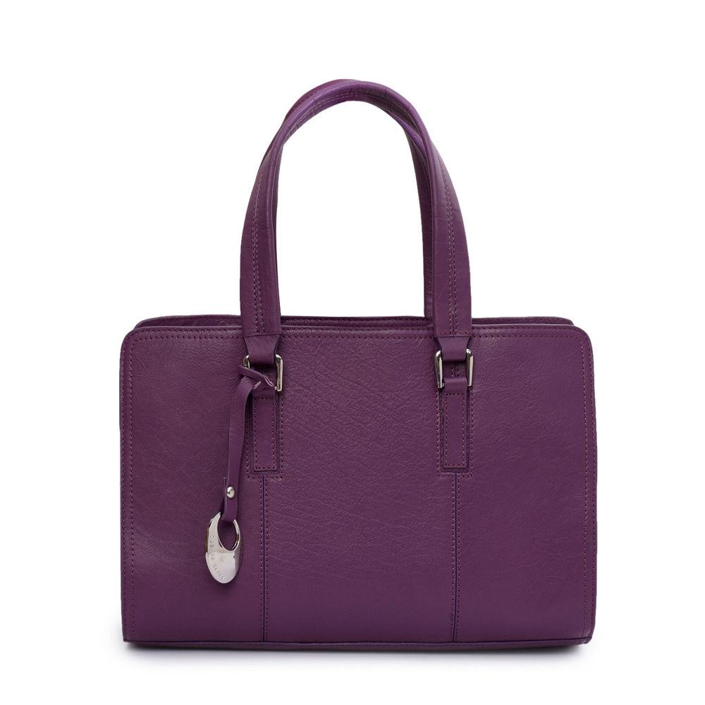 Women's Leather Handbag - PRU1335