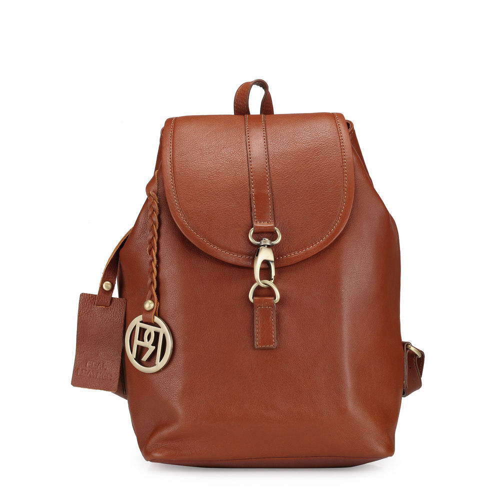 Women's Leather Backpack - PR1035