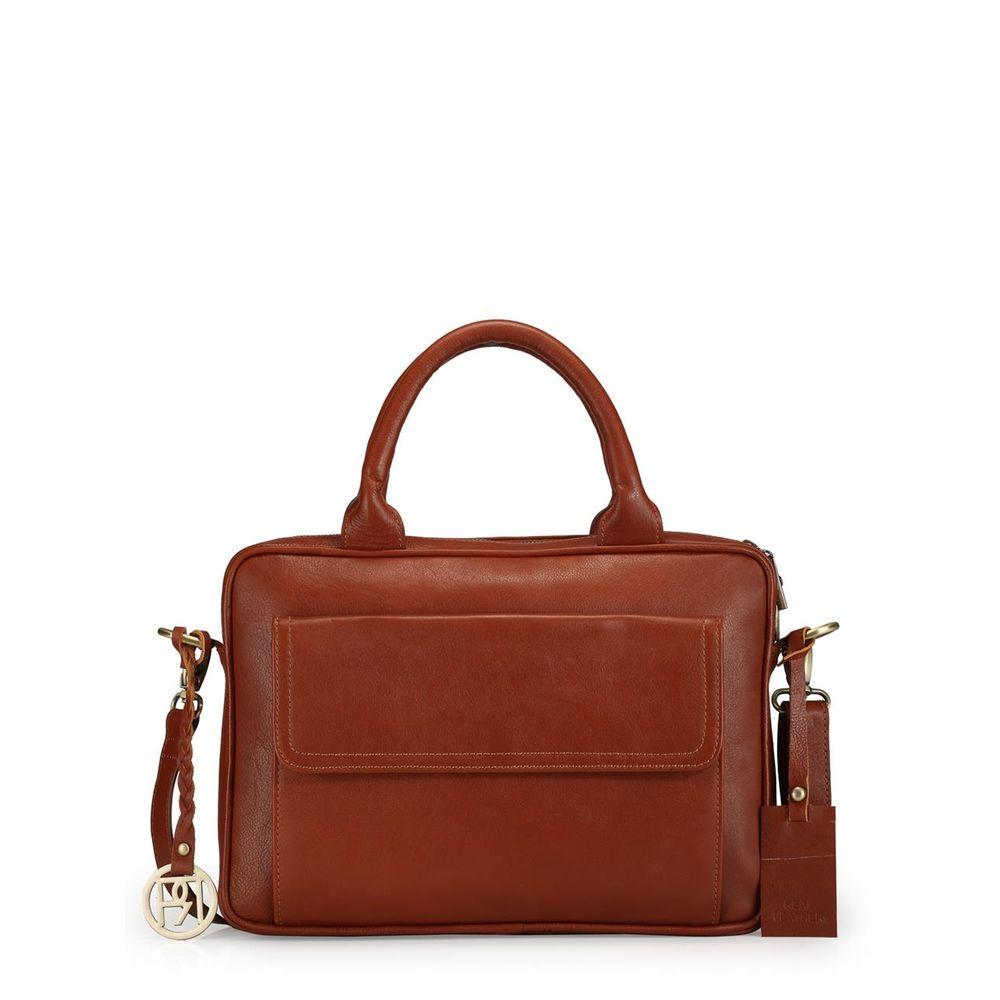 Women's Leather Laptop Bag - PR1037