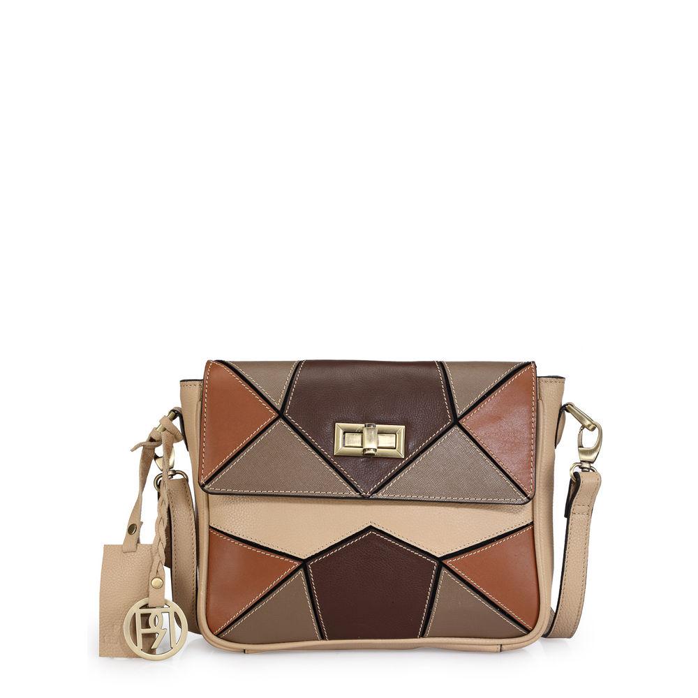 Women's Leather Crossbody Bag - PR1040