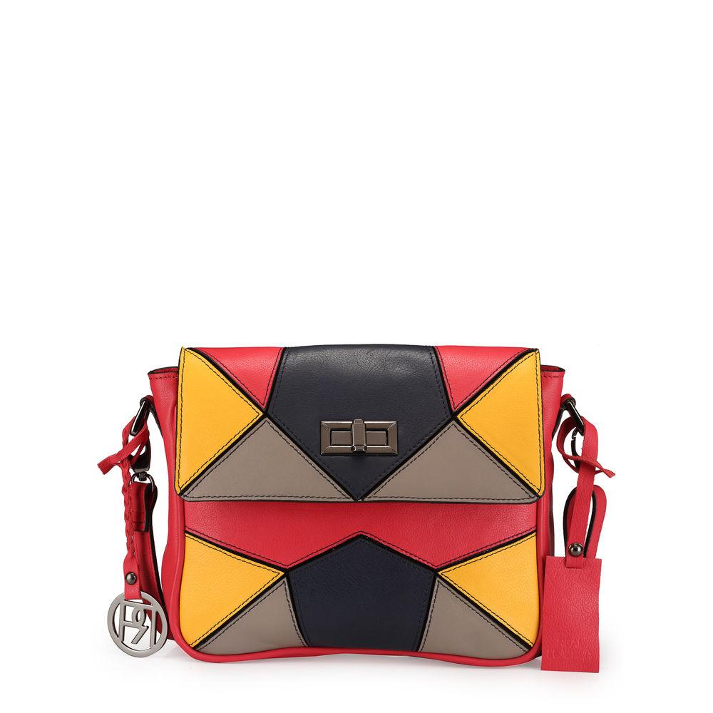 Women's Leather Crossbody Bag - PR1041