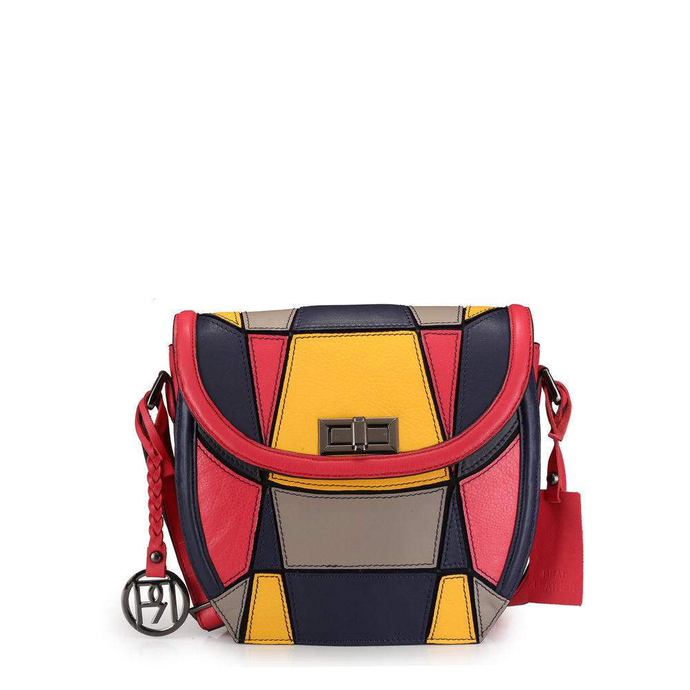 Women's Leather Crossbody Bag - PR1042