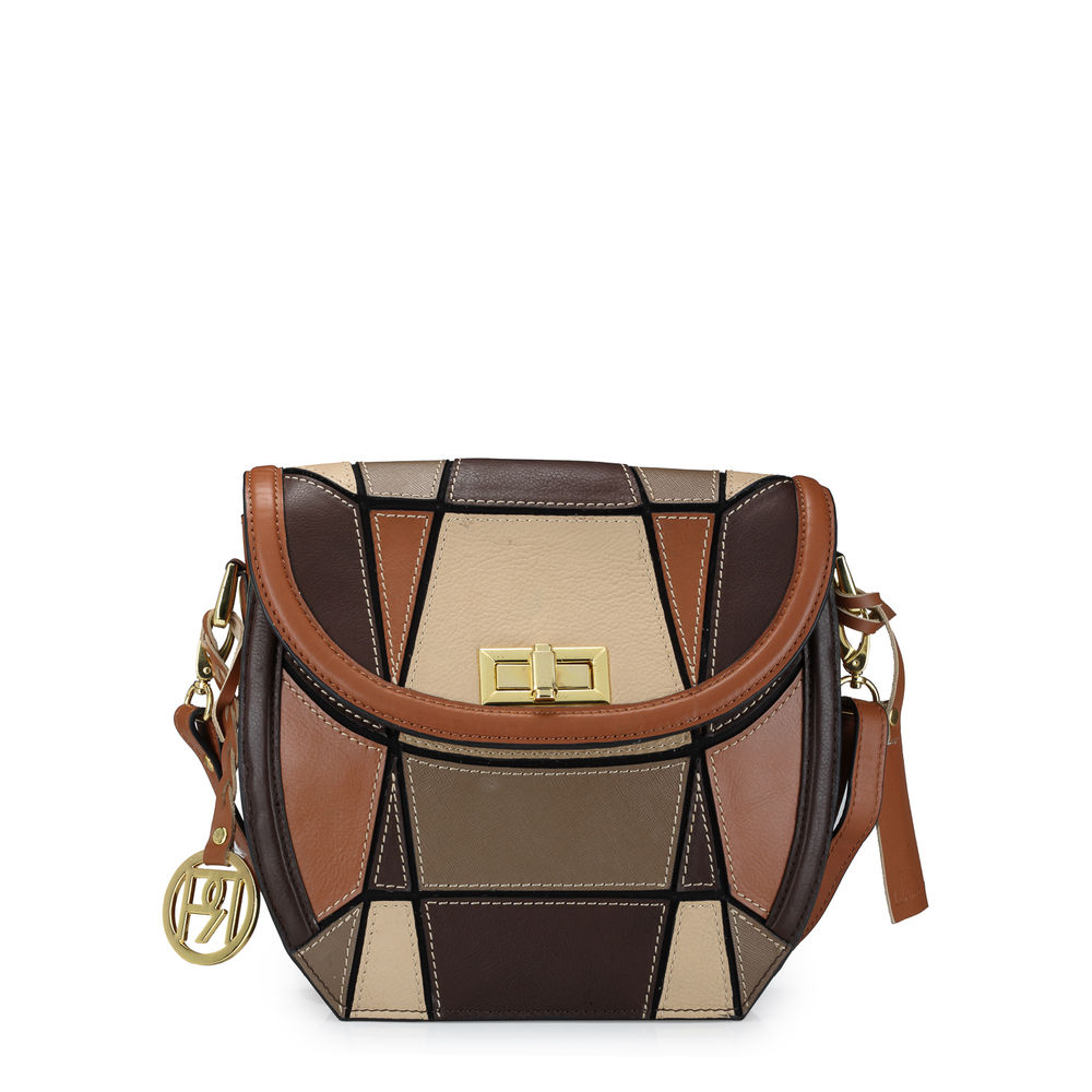 Women's Leather Crossbody Bag - PR1043