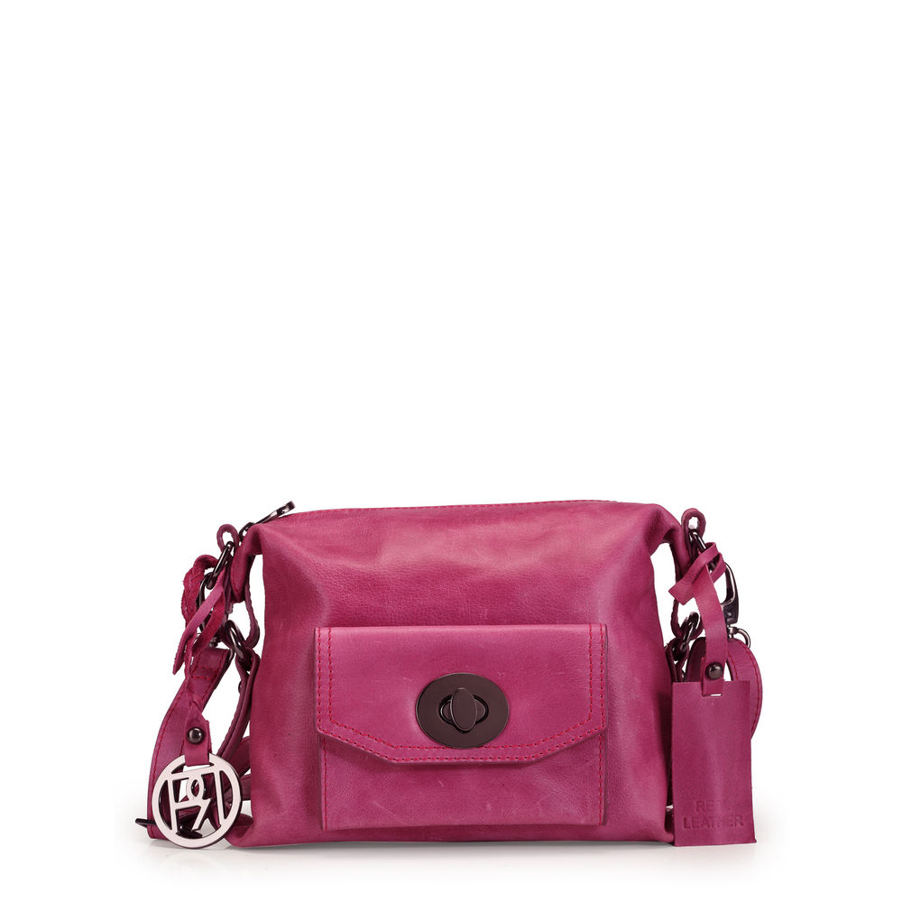 Women's Leather Crossbody Bag - PR1049