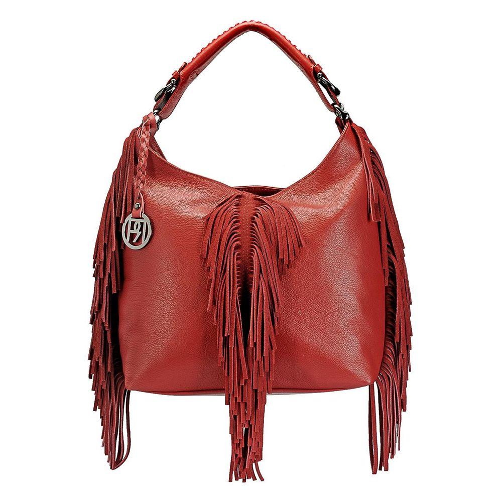 Women's Leather Hobo Bag - PR1069