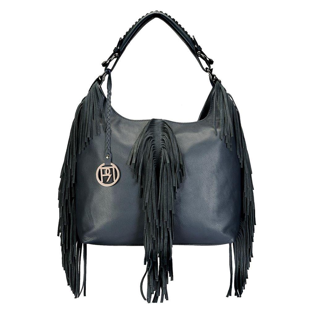 Women's Leather Hobo Bag - PR1070