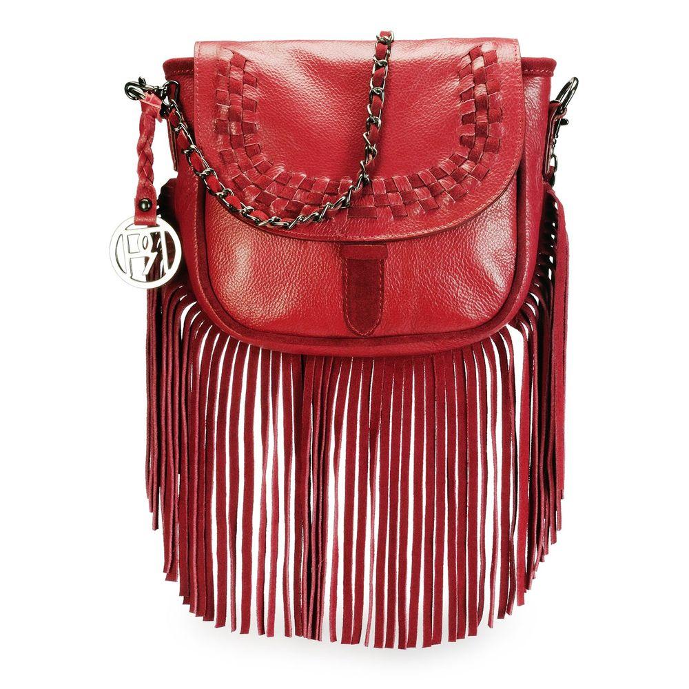 Women's Leather Crossbody Bag - PR1073
