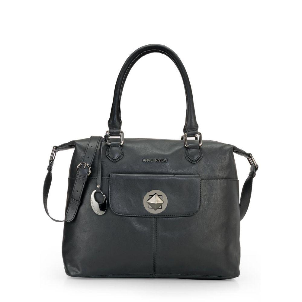 Women's Leather Shoulder Bag - PR1083