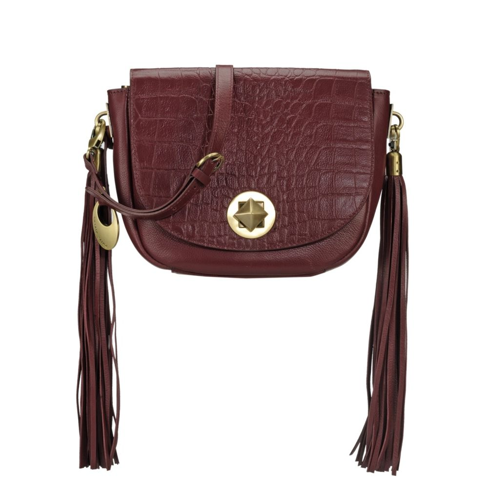 Women's Leather Crossbody Bag - PR1086