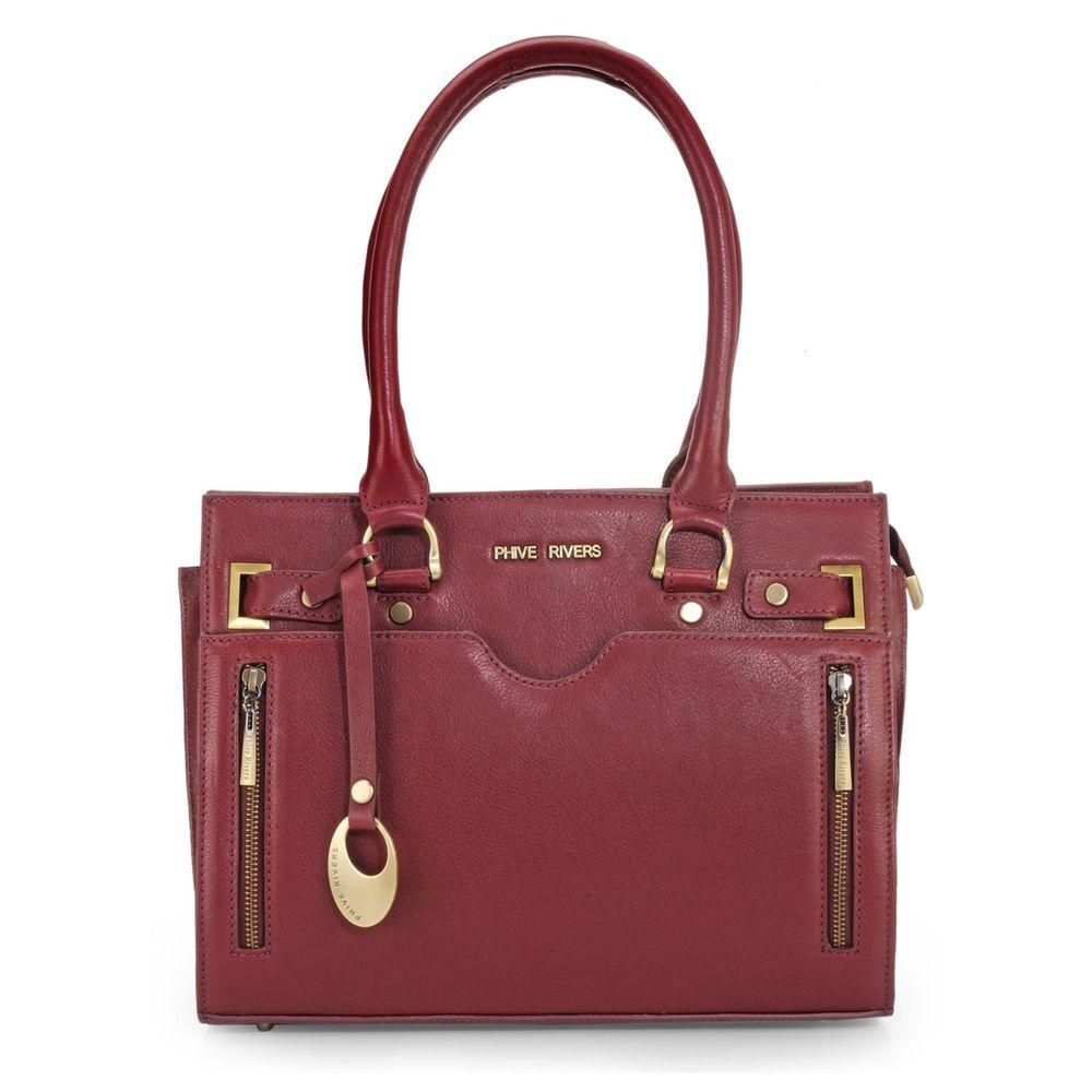 Women's Leather Shoulder bag - PR1098