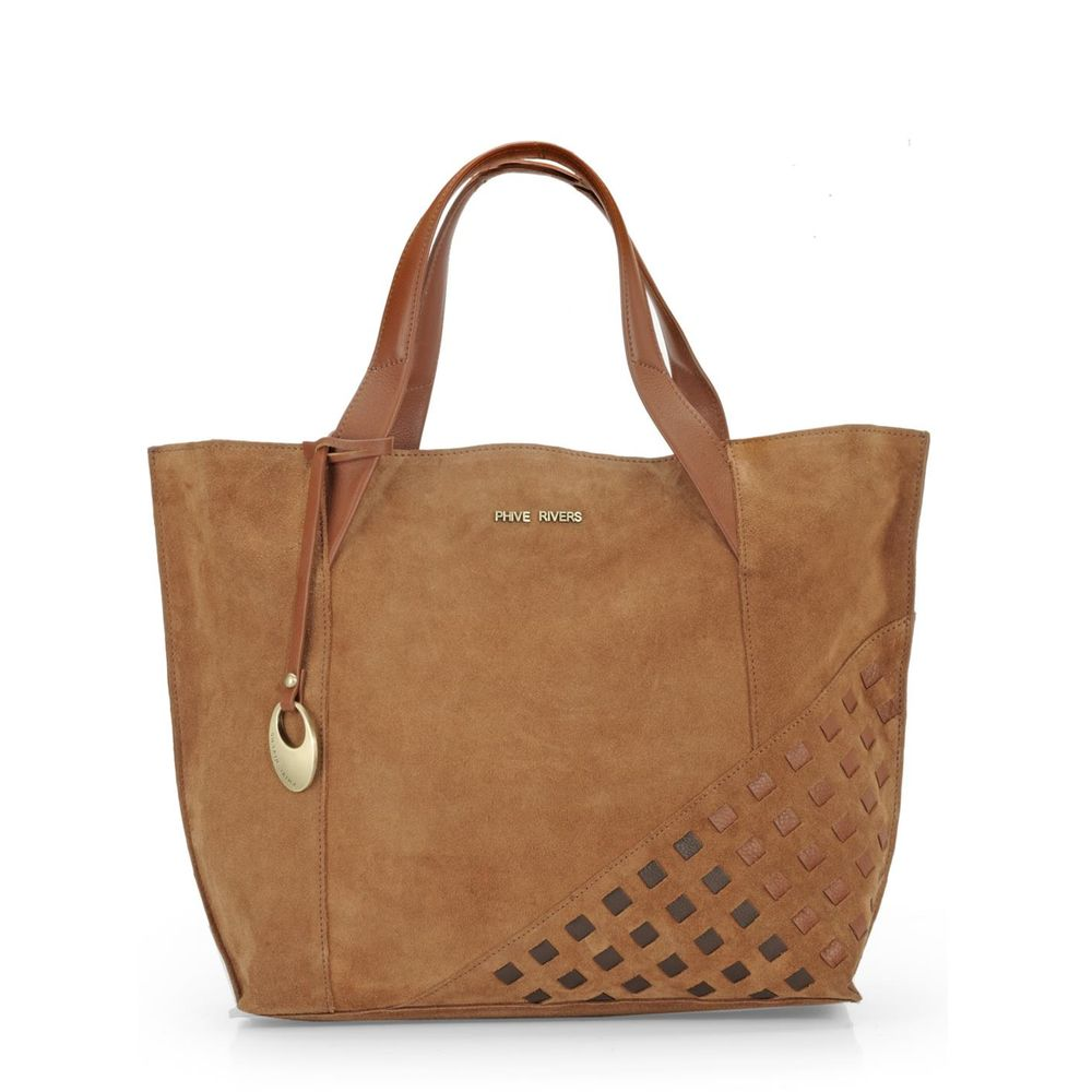 Women's Leather Tote Bag - PR1103
