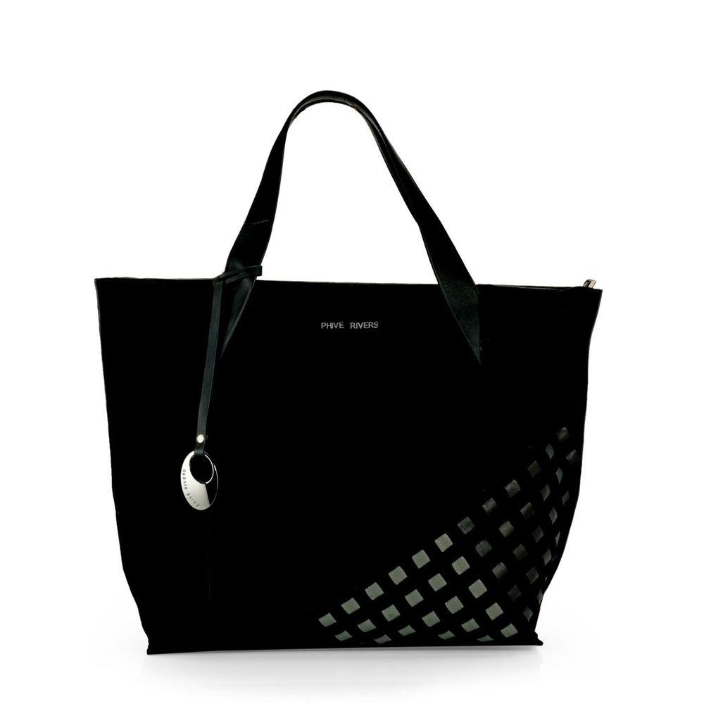 Women's Leather Tote Bag - PR1104
