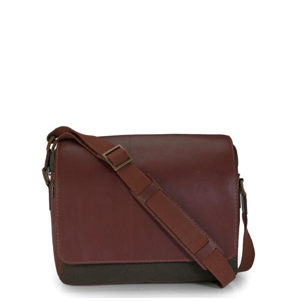 Men's Leather Messenger Bag - PR1110