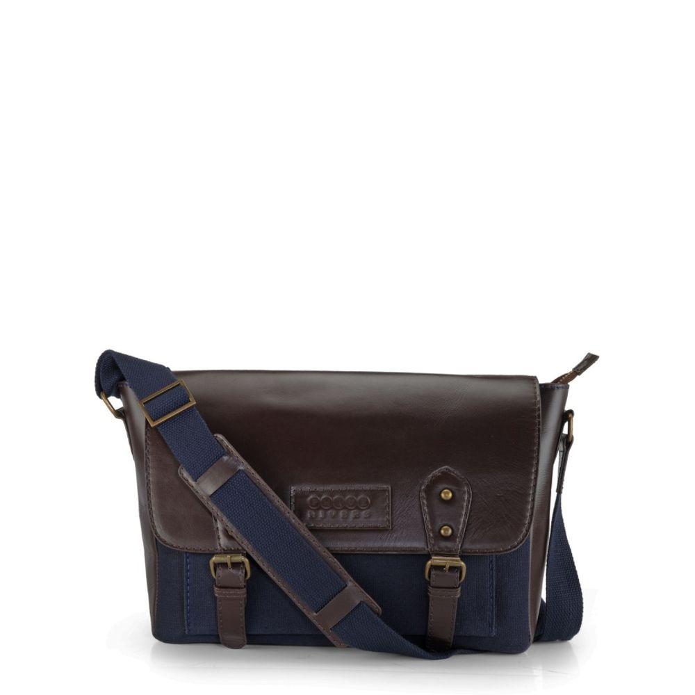 Men's Leather Messenger Bag - PR1112