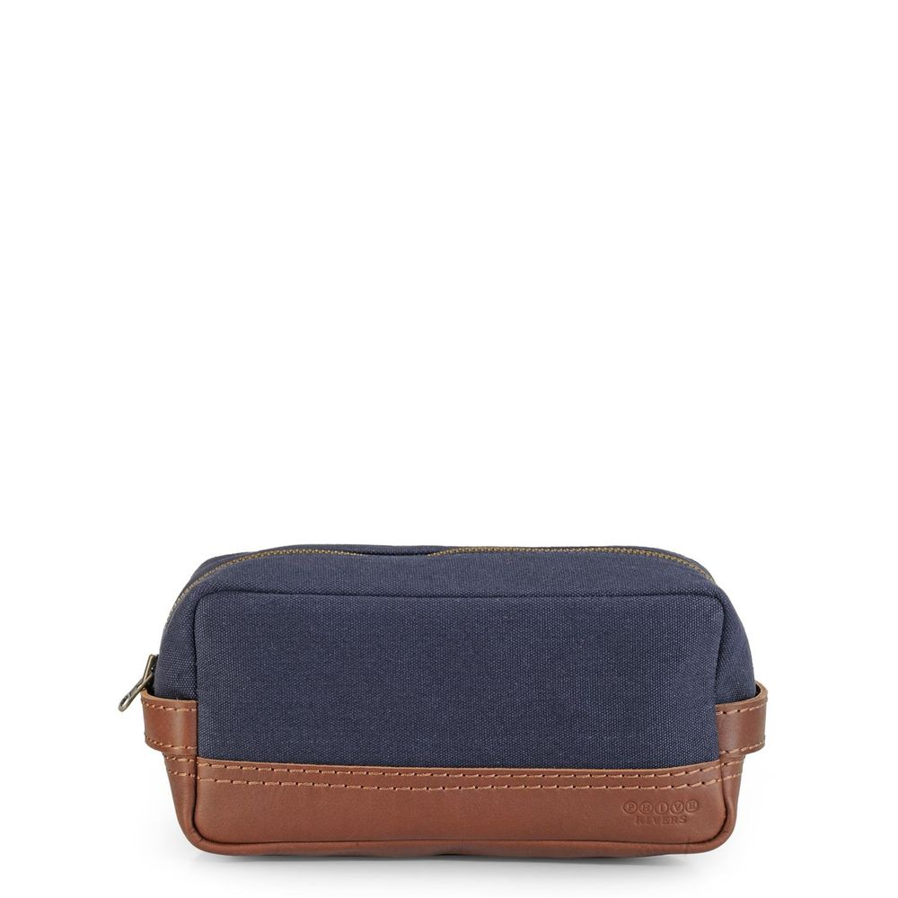 Men's Leather Wash bag/Toilet kit - PR1119