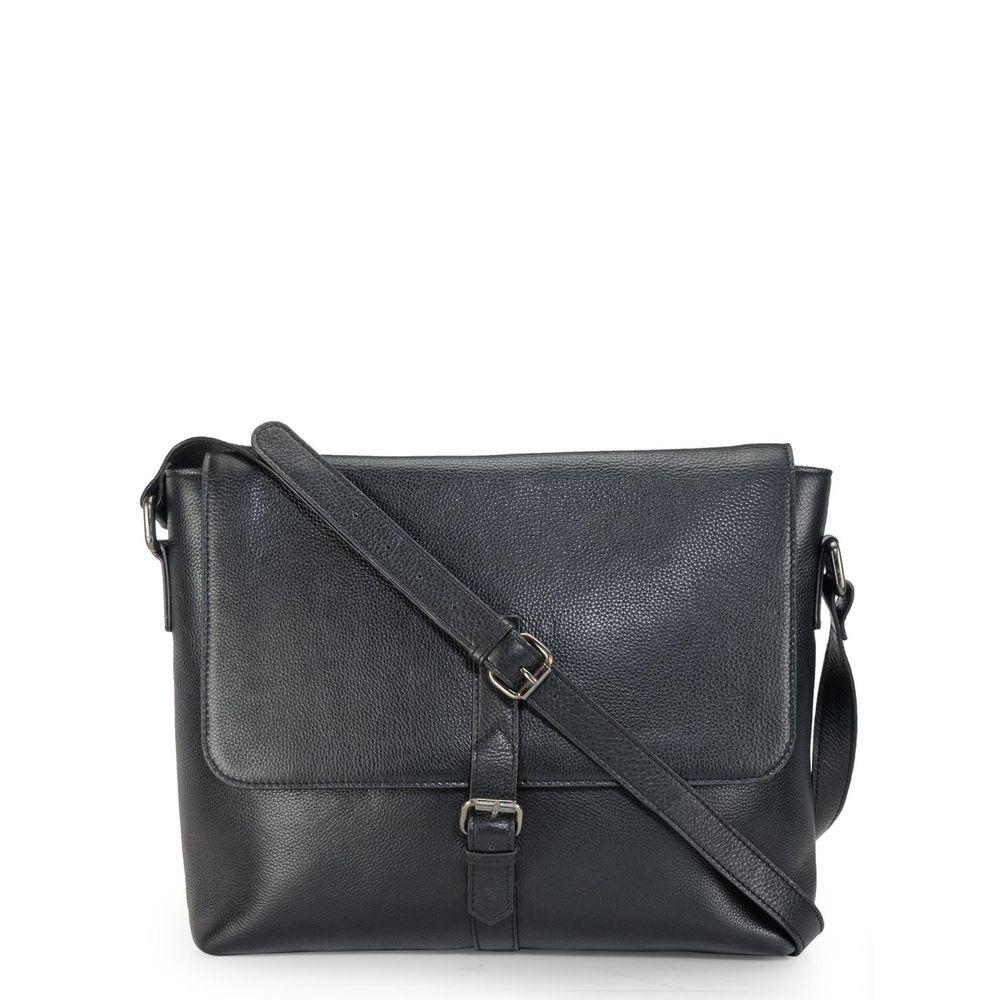 Men's Leather Messenger Bag - PR1122
