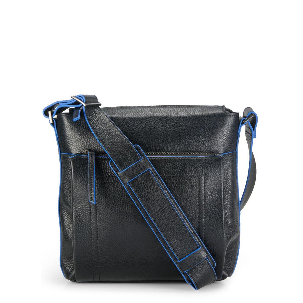 Men's Leather Messenger Bag - PR1128