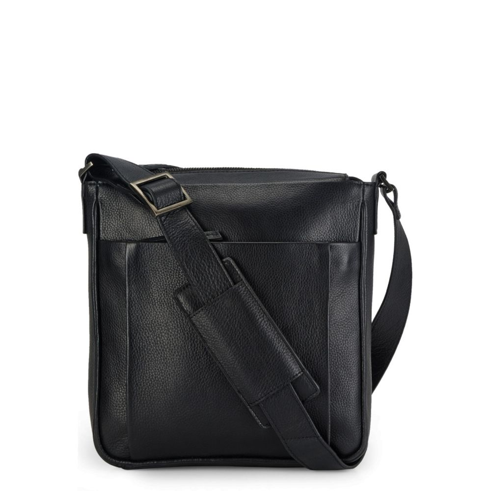 Men's Leather Messenger Bag - PR1129