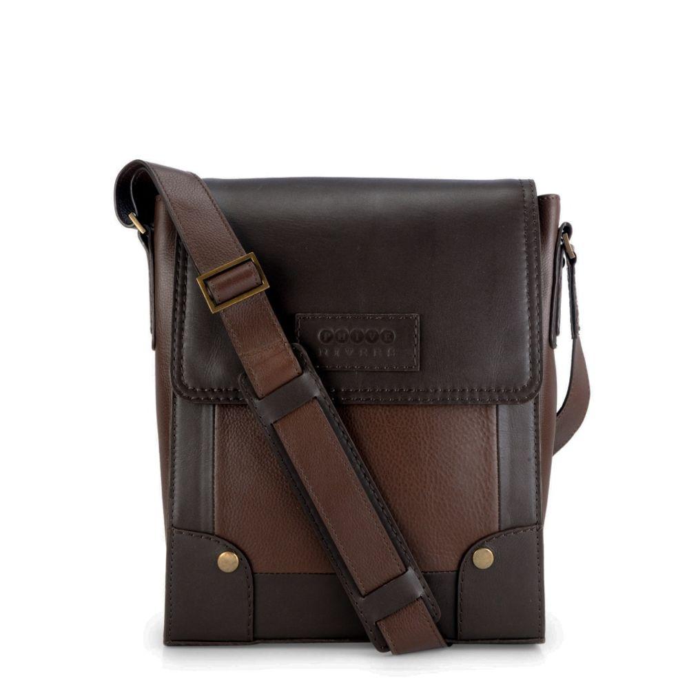 Men's Leather Messenger Bag - PR1130