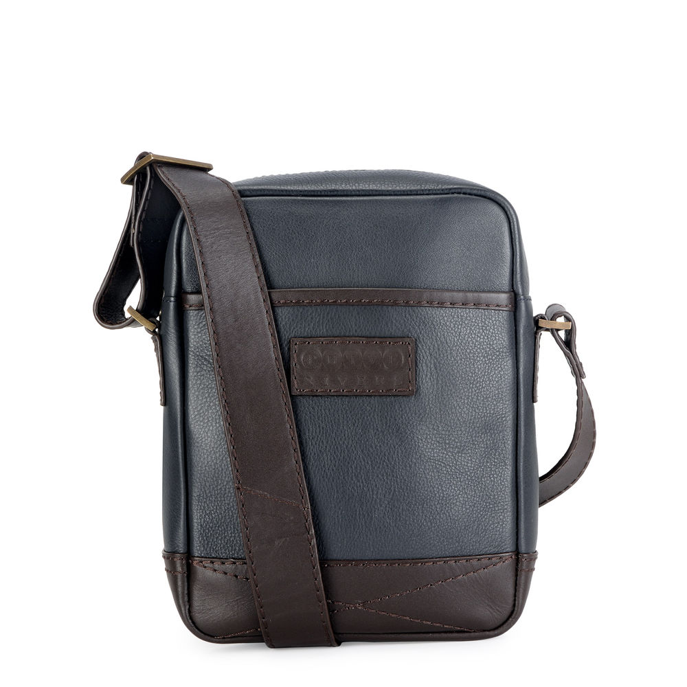 Men's Leather Messenger Bag - PR1131