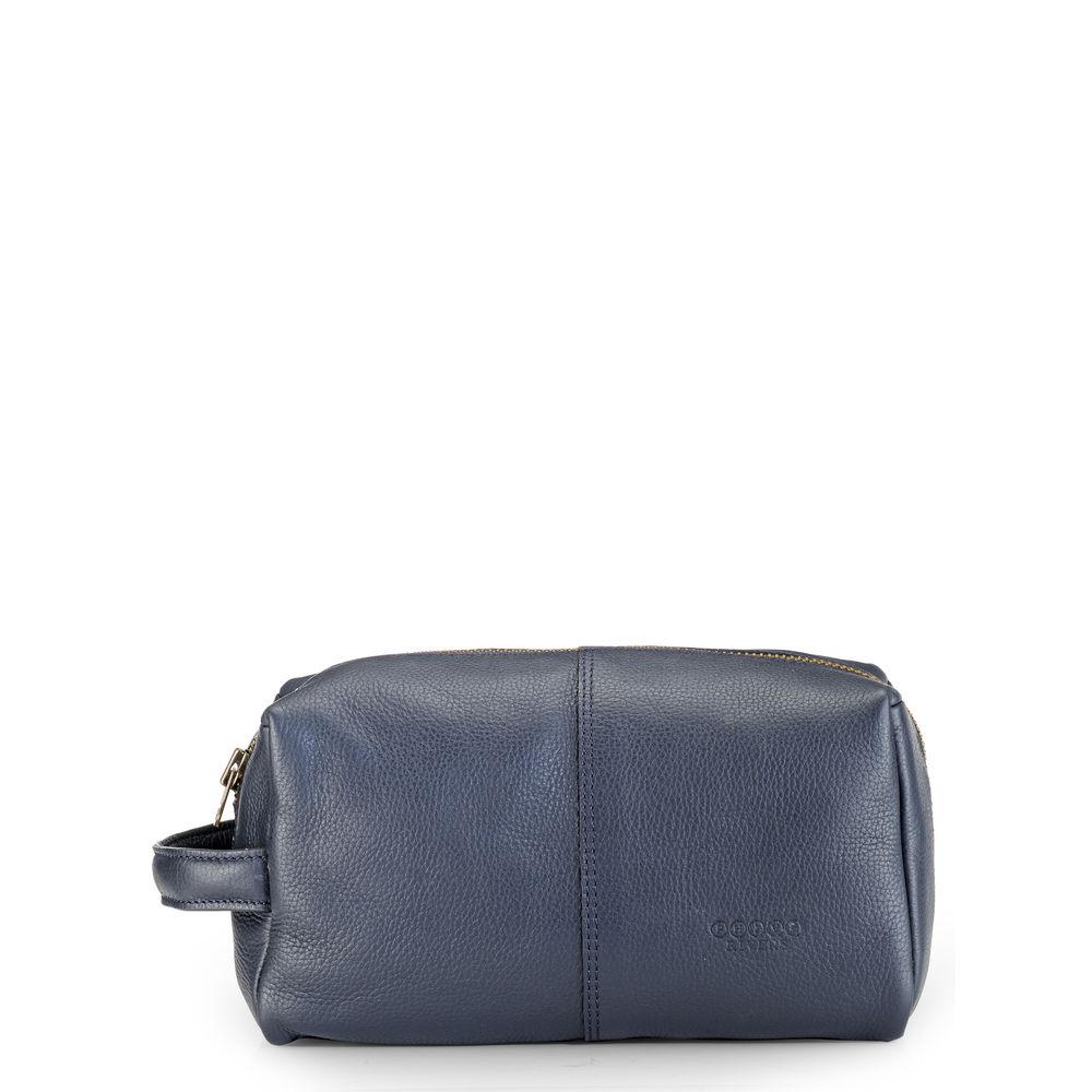 Men's Leather Wash bag/Toilet kit - PR1134