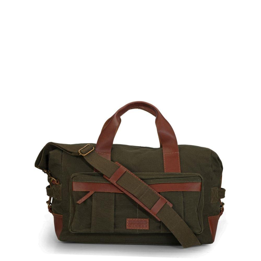 Men's Leather Duffle/ Weekender - PR1137