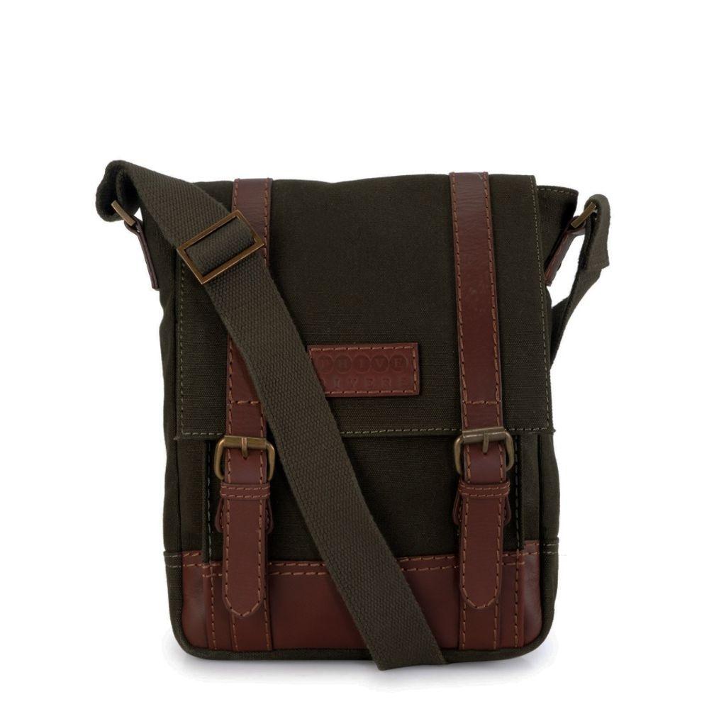 Men's Leather Messenger Bag - PR1150