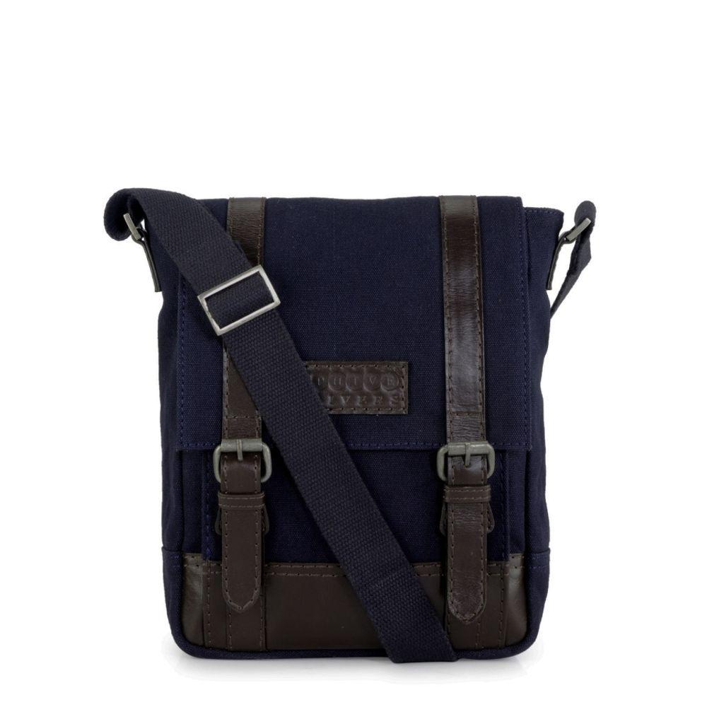 Men's Leather Messenger Bag - PR1151