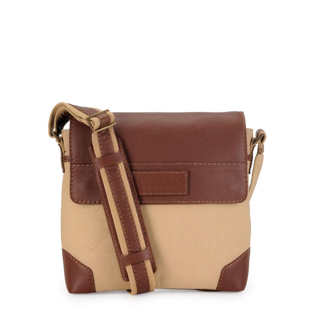 Men's Leather Messenger Bag - PR1152