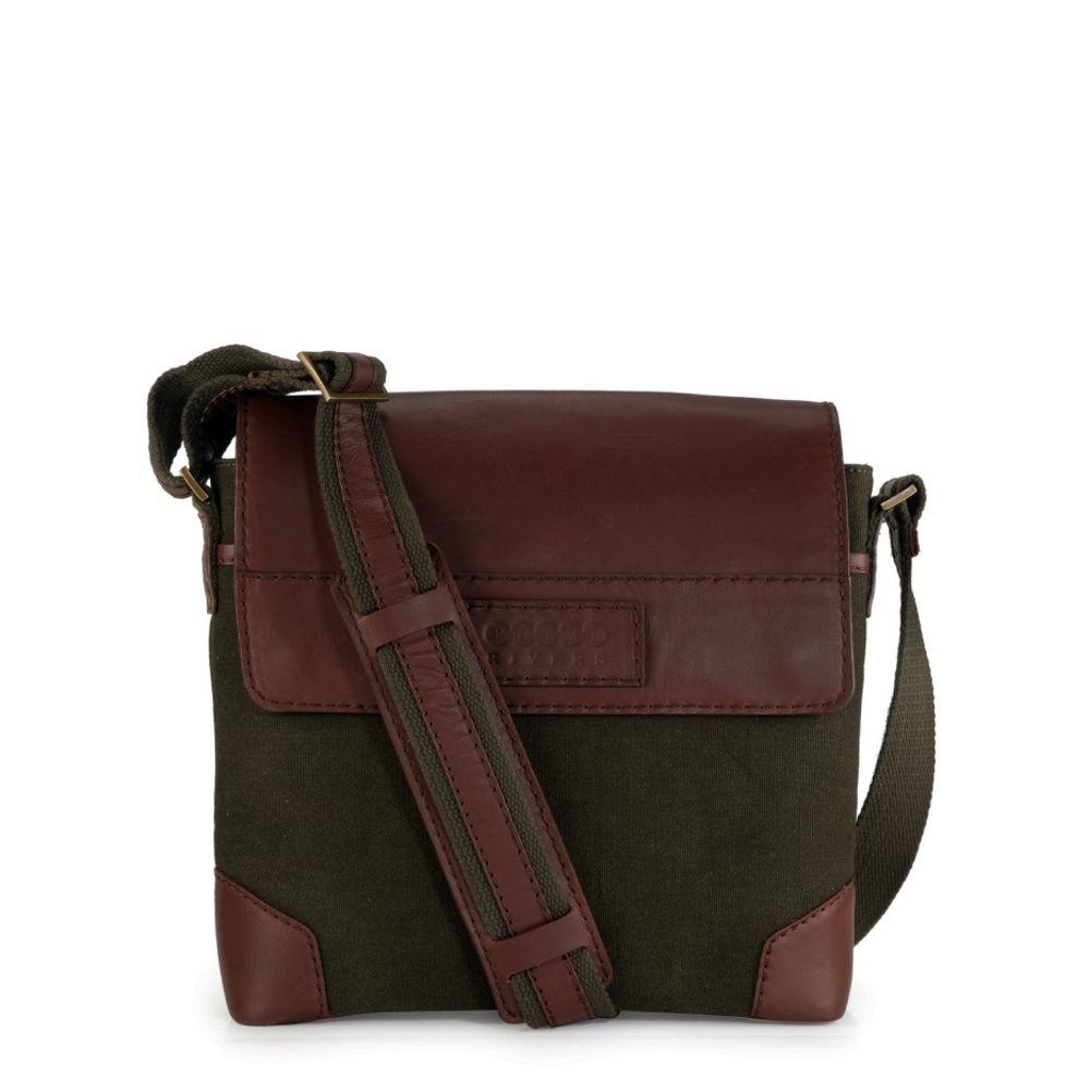 Men's Leather Messenger Bag - PR1154