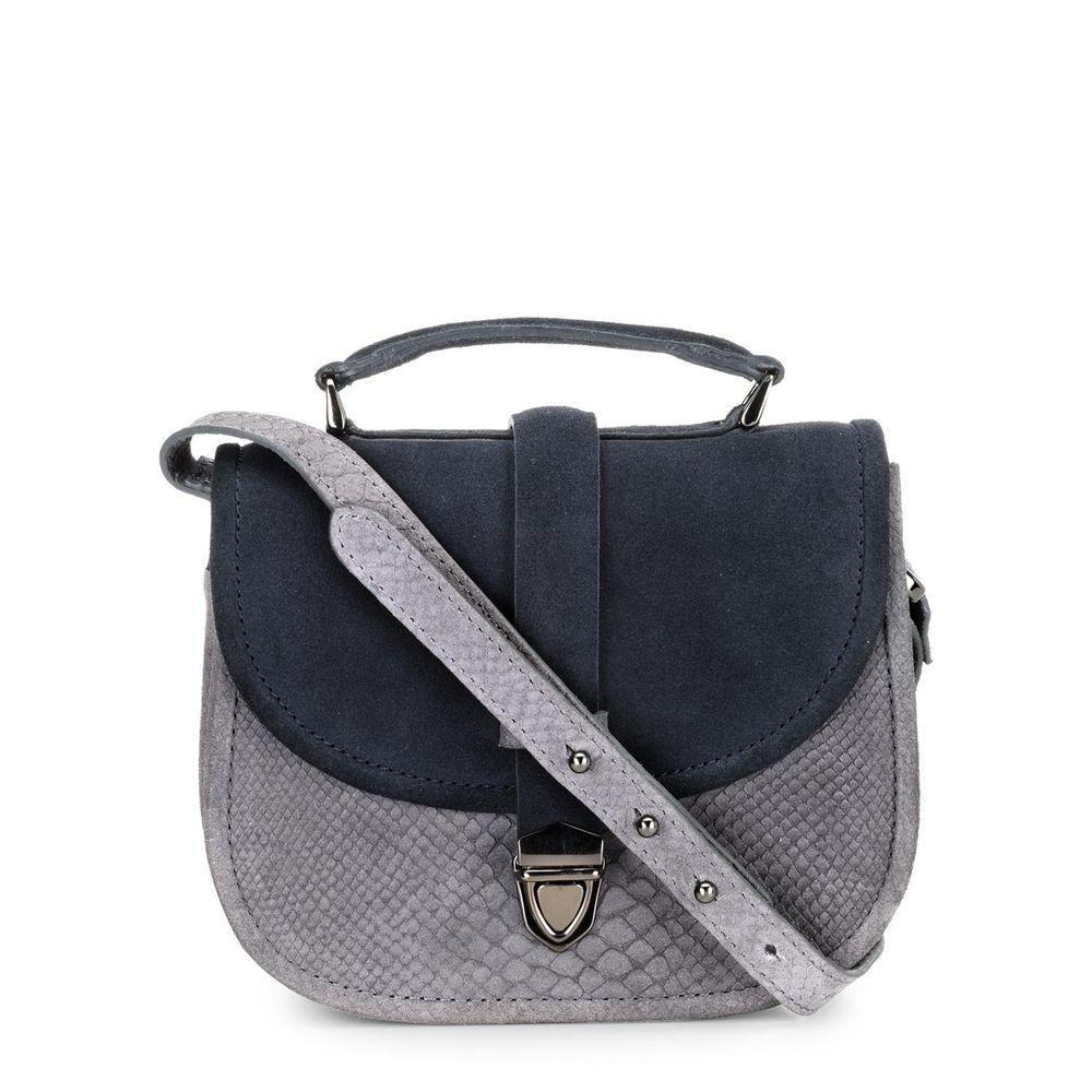 Women's Leather Crossbody Bag - PR1211