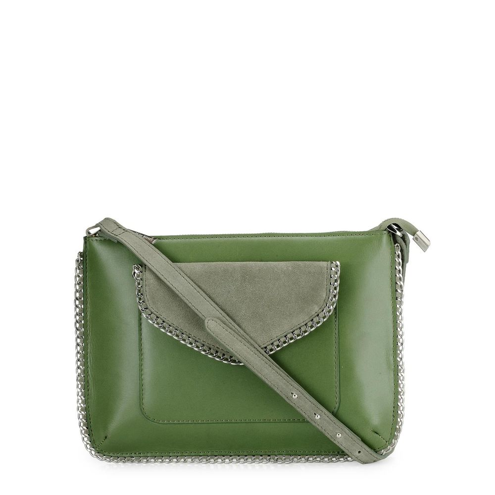 Women's Leather Crossbody Bag - PR1212