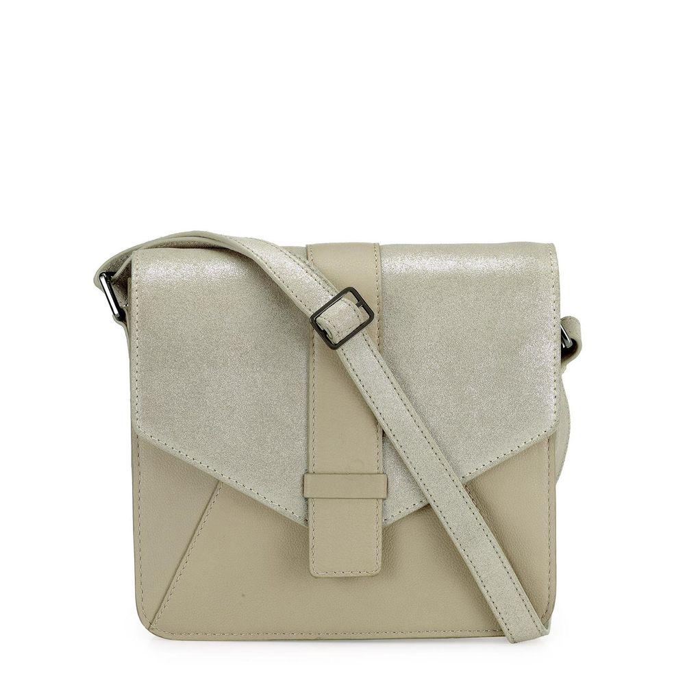 Women's Leather Crossbody Bag - PR1214