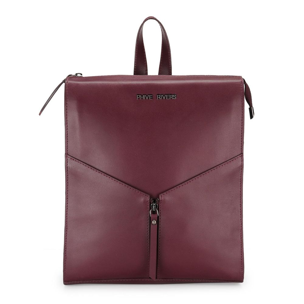 Women's Leather Back Pack - PR1220