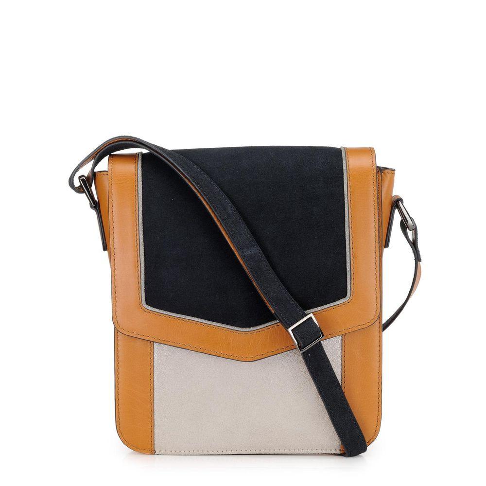 Women's Leather Crossbody Bag - PR1221