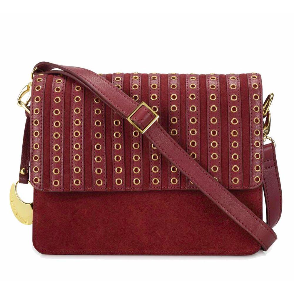 Women's Leather Crossbody Bag - PR1270