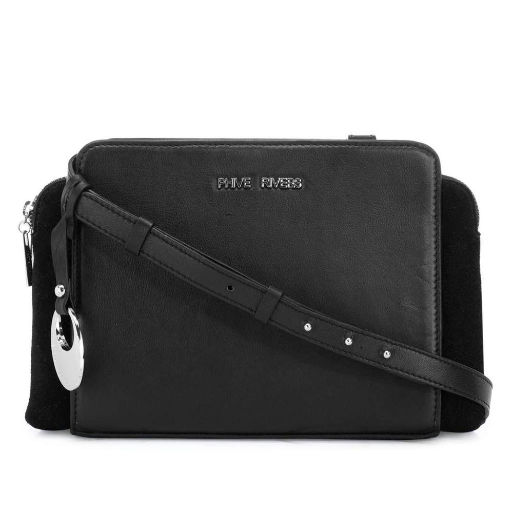 Women's Leather Crossbody Bag - PR1272