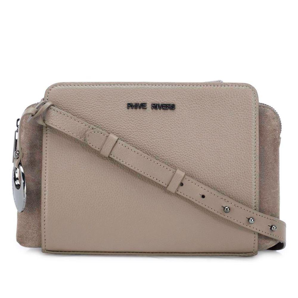 Women's Leather Crossbody Bag - PR1273