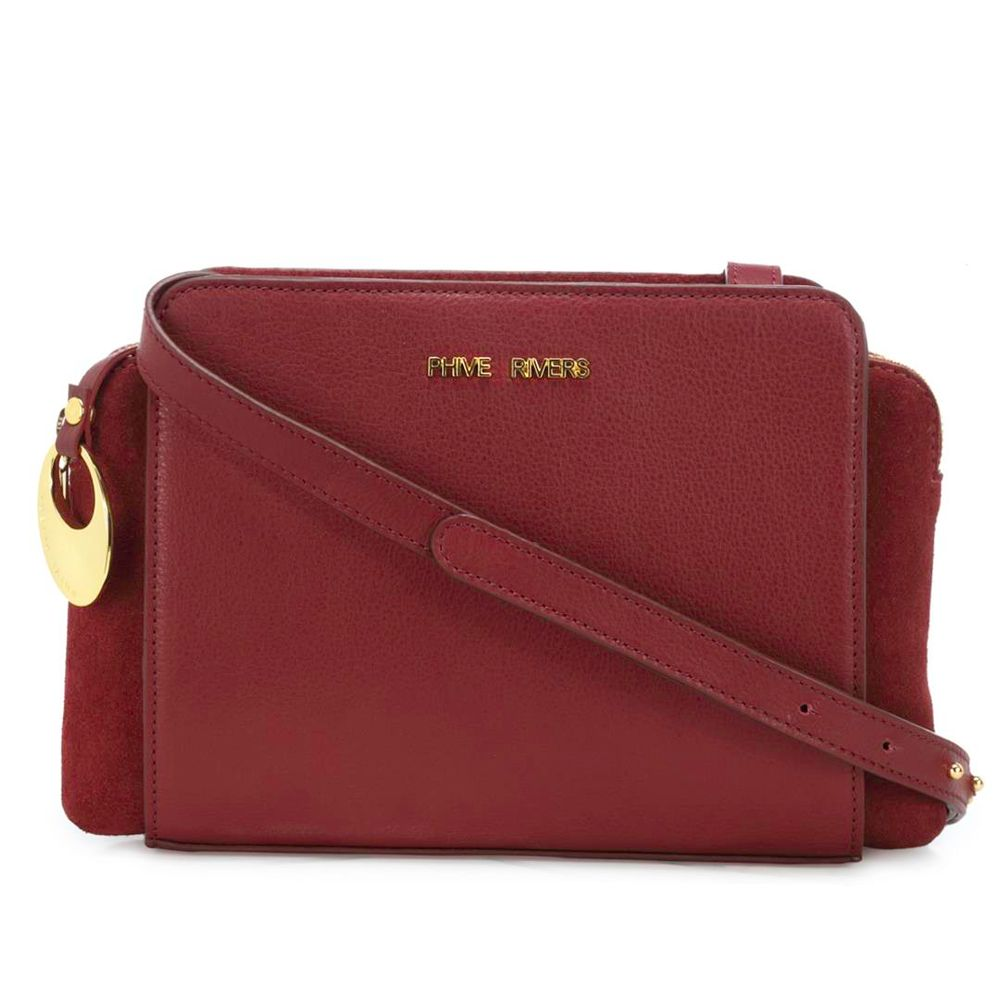 Women's Leather Crossbody Bag - PR1274