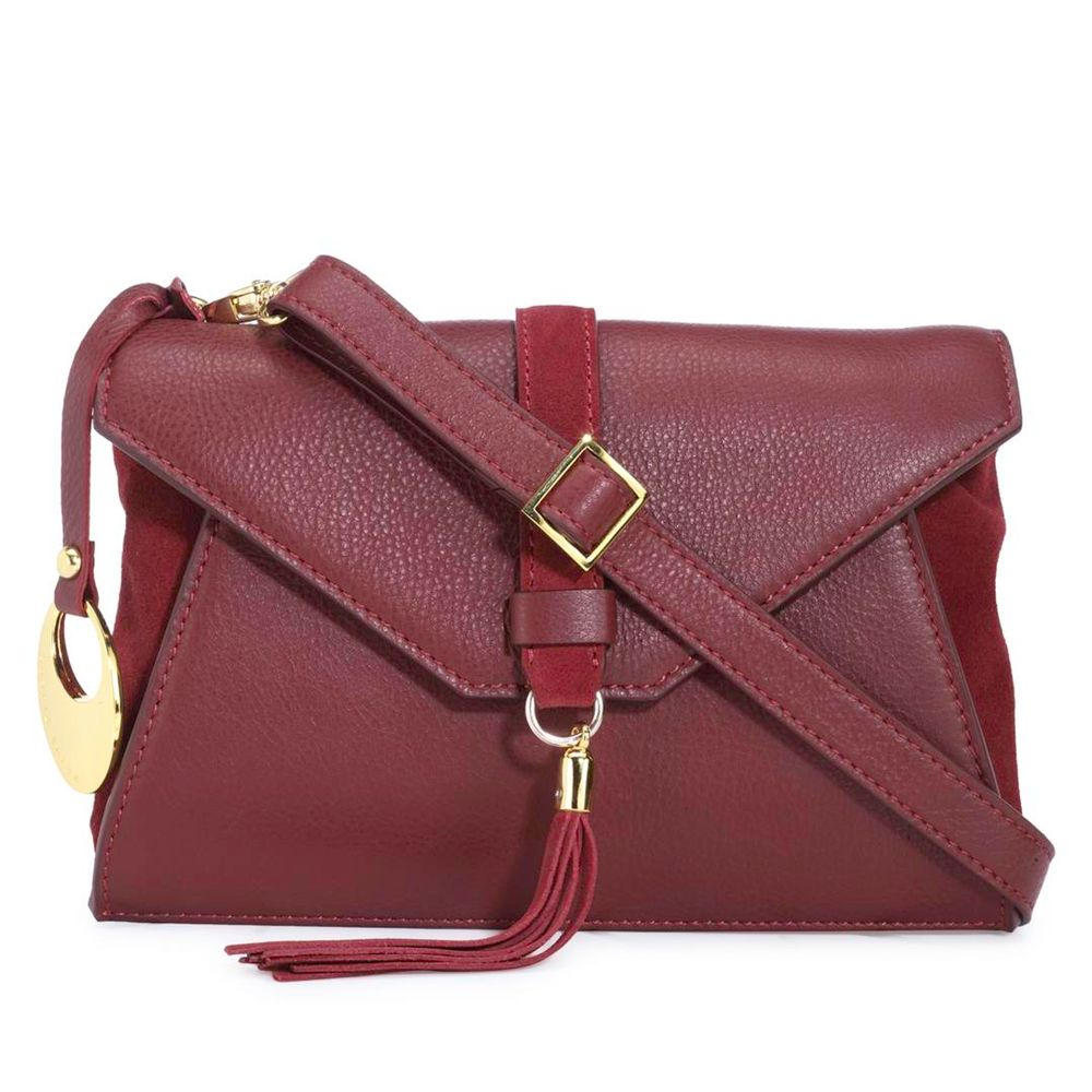 Women's Leather Crossbody Bag - PR1279