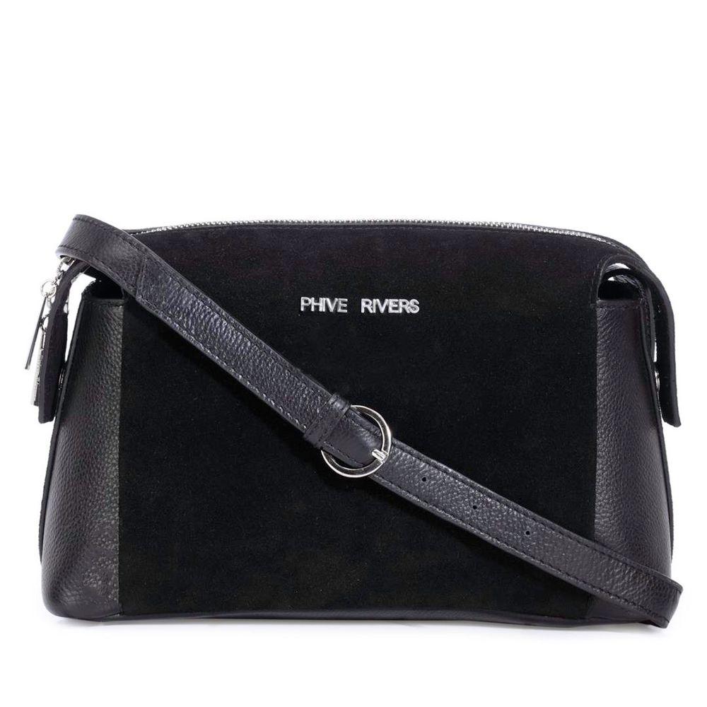 Women's Leather Crossbody Bag - PR1290