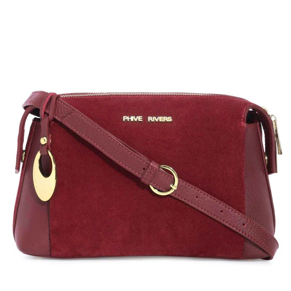 Women's Leather Crossbody Bag - PR1291