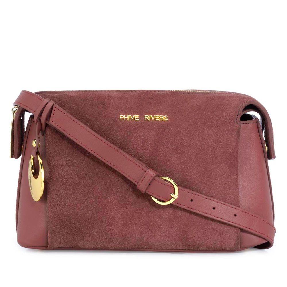 Women's Leather Crossbody Bag - PR1292