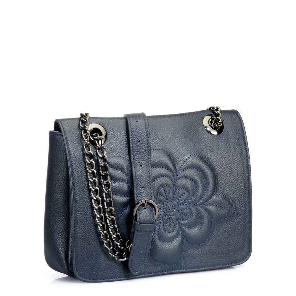 Women's Leather Crossbody Bag - PR809