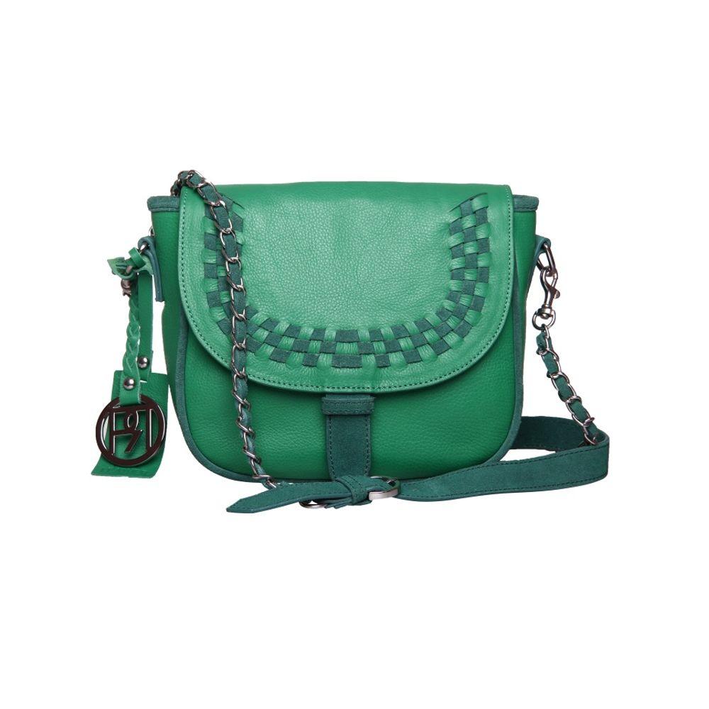 Women's Leather Crossbody Bag - PR947